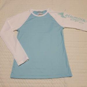 Columbia Women Long Sleeve Sports Top